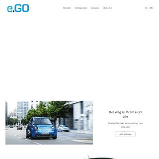 e.GO Mobile AG