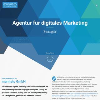 Online Marketing Agentur - Stuttgart - marmato GmbH
