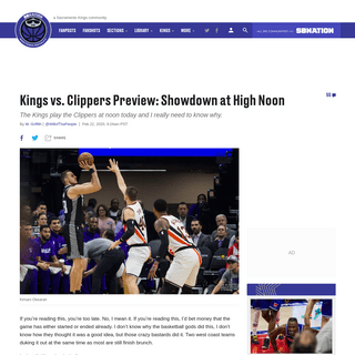 ArchiveBay.com - www.sactownroyalty.com/2020/2/22/21148260/kings-vs-clippers-preview-showdown-at-high-noon-kings-herald-april-2020-be-there-or-be-square-nerds - Kings vs. Clippers Preview- Showdown at High Noon - Sactown Royalty