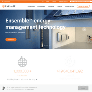 Enphase Energy- Smart Solar & Clean Energy For Everyone