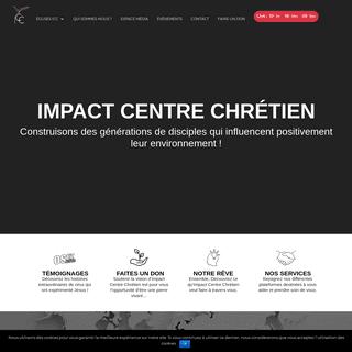 ArchiveBay.com - impactcentrechretien.com - Impact Centre Chrétien - Une église où l'amour de Dieu transforme des gens ordinaires en champions