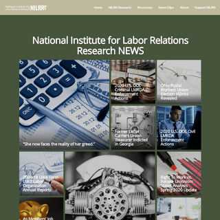 ArchiveBay.com - nilrr.org - National Institute for Labor Relations Research NILRR.org