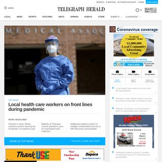 telegraphherald.com - A product of TH Media.