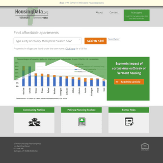 Home - HousingData.org - Directory of affordable rental housing