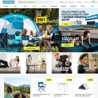 Decathlon - Türkiye'nin En Büyük Spor Giyim ve Malzeme Mağazası