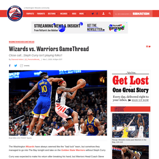 Wizards vs. Warriors GameThread - Bullets Forever