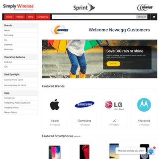 Newegg Wireless Store - Simply Wireless Store