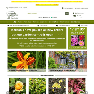 ArchiveBay.com - jacksonsnurseries.co.uk - Buy Plants Online - Online Garden Centre and Plant Nursery