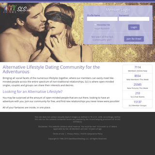 Alternative Lifestyle Dating Community for the Adventurous - SLS.com