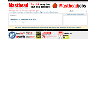 Page not found - Masthead Online - Headline News, Careers and Reference for the Canadian Magazine Industry