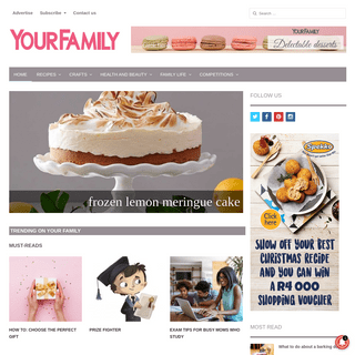Your Family - Everything today's mom wants