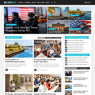 EDUMAG - Keyifli Yurtdışı Eğitim İçerikleri