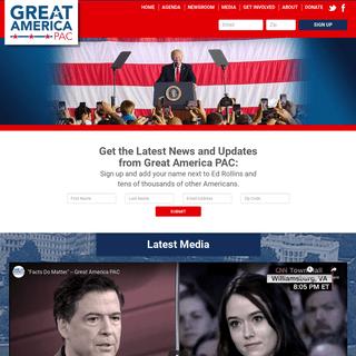 Great America PAC - President Donald Trump Super PAC