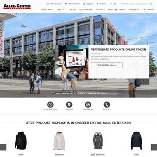 Erlebnis- und Einkaufszentrum im Herzen der Landeshauptstadt - Allee-Center Magdeburg