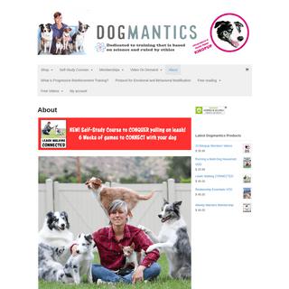 Dogmantics Dog Training
