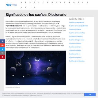 ArchiveBay.com - diccionariodelossuenos.net - Significado de los Sueños e interpretación - El Diccionario de los Sueños