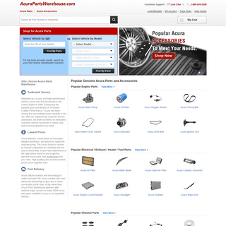 ArchiveBay.com - acurapartswarehouse.com - Acura Parts - Genuine OEM Acura Parts and Accessories Online