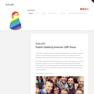 RUSA LGBT - Russian-Speaking American LGBT Group