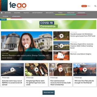 Te Ao Māori News