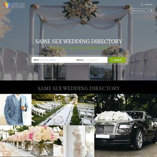 Same Sex Wedding Directory - Same Sex Weddings - Gay Weddings Australia