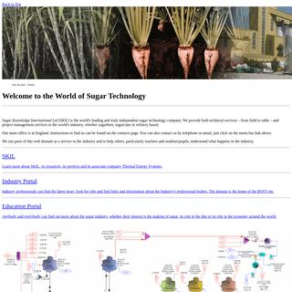 Sugar Knowledge International Ltd - Home Page
