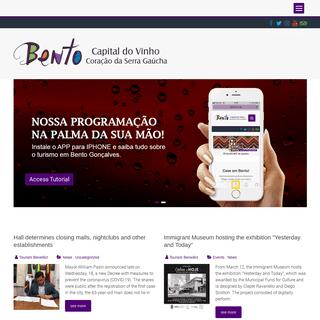 Welcome to Bento Goncalves - Bento Goncalves Attractions
