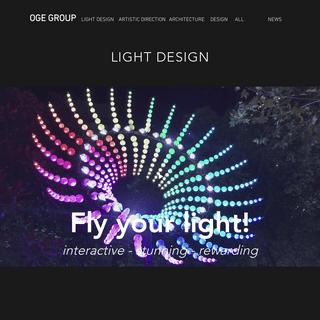 OGE Group - light design - art direction - architecture & more (Haifa)