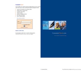 ArchiveBay.com - consumercheck.com - Credit Check, Tenant Screening & Employee Checks - 44m Files Online