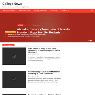 College News – Top News Stories From America's Leading Colleges