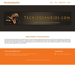 Tecnicosaurios