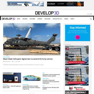 DEVELOP3D - Frontpage