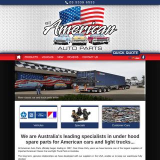 Car Spare Parts Australia – All American Auto Parts