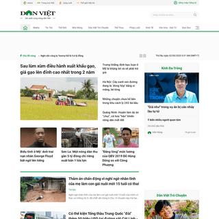 Báo Dân Việt - Đọc Tin Tức Online Nhanh Mới Nhất 24h