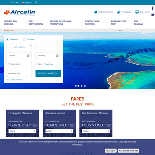 Aircalin ® - Book your flight to New Caledonia