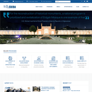 Home - Capital Region Development Authority (CRIDA)