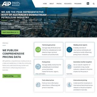 Home - Australian Institute of Petroleum