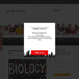 IGCSE Centre – Build Your Confidence. A- Will Follow.
