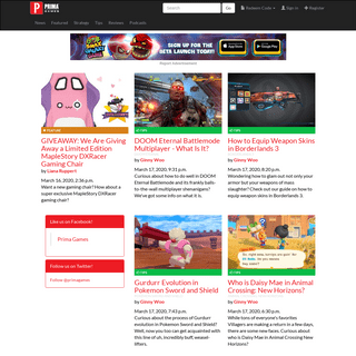 ArchiveBay.com - primagames.com - Prima Games - Game News and Strategy
