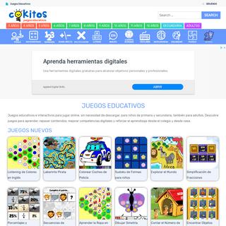 COKITOS - Juegos Educativos Gratis Online