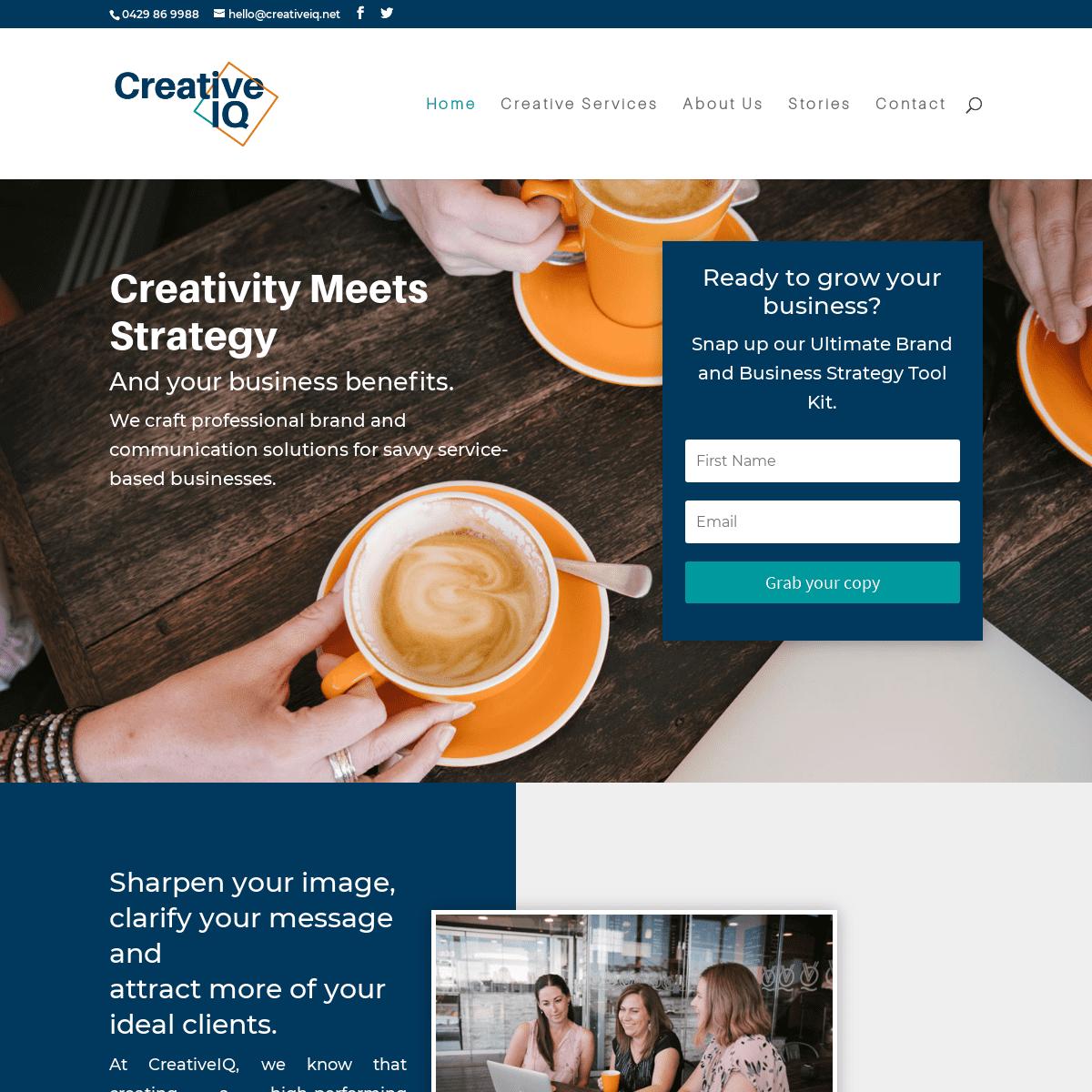 Branding & Communications Strategists - CreativeIQ