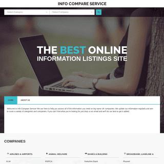 Info Compare Service