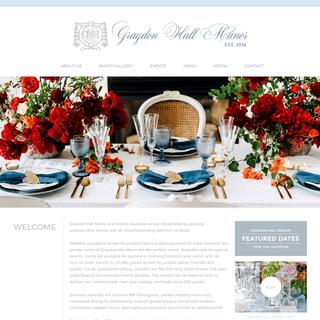 Graydon Hall Manor - Toronto Wedding and Event Venue - Graydon Hall Manor - Toronto Wedding and Event Venue