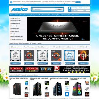 ArchiveBay.com - arbico.co.uk - Custom Built PC Specialist - Custom PC Builder in UK - Arbico
