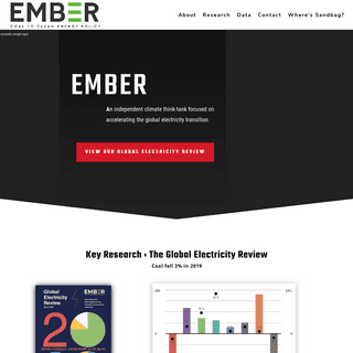 Ember - Coal to clean energy policy