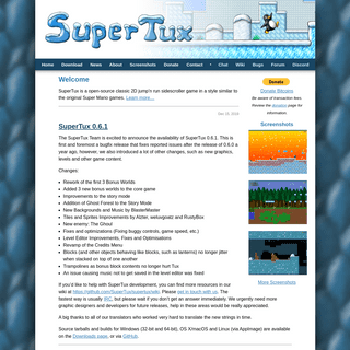 ArchiveBay.com - supertux.org - SuperTux - Home