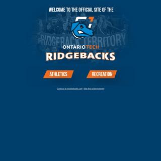 Ontario Tech Ridgebacks