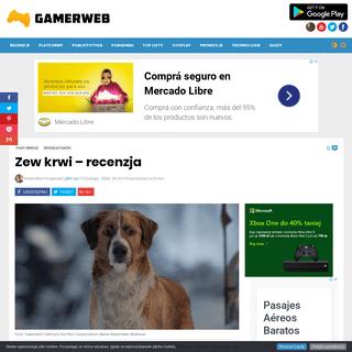 Zew krwi - recenzja - Gamerweb.pl