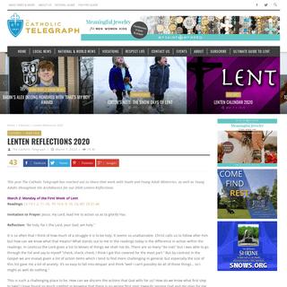ArchiveBay.com - www.thecatholictelegraph.com/lenten-reflections-2020/63753 - Lenten Reflections 2020 – Catholic Telegraph