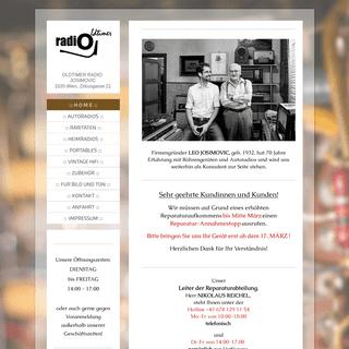 ArchiveBay.com - rajofot-21.at - OLDTIMER - RADIO JOSIMOVIC WIEN 2., Zirkusgasse 21