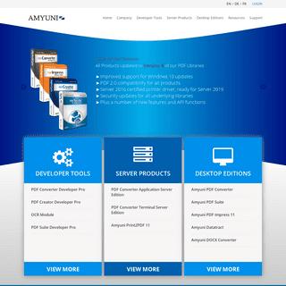 Amyuni - Quality PDF Developer Tools for .NET and COM, 64-bit SDK